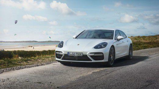 Porsche Panamera Turbo S E-Hybrid Sport Turismo. Die Sportwagenmarke aus Zuffenhausen fahren vor allem Gutverdiener.