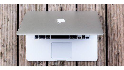 Im Test: Das Macbook Pro 15 Zoll.