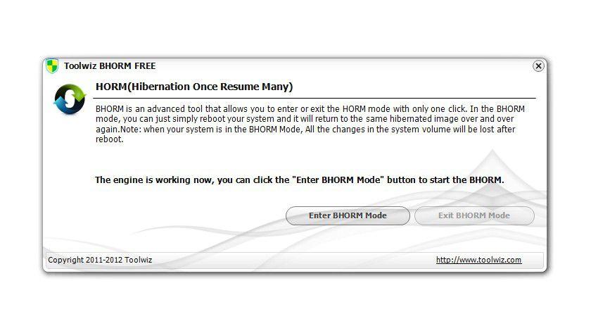 Wenn Sie gefahrlos Software testen möchten, dann hilft das Tool Bhorm weiter. Es friert den aktuellen Zustand von Windows ein und stellt ihn bei jedem PC-Neustart wieder her.
