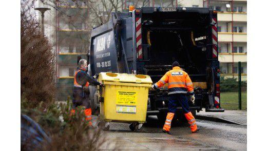 Recycling von Elektroschrott bei Alba.