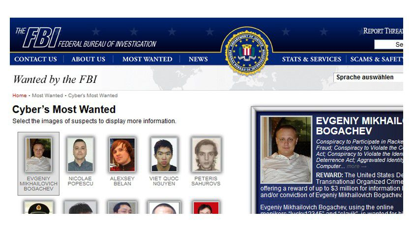 FBI Cyber´s Most Wanted