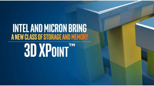 Intel und Micron wollen mit 3D XPoint eine neue Ära in Speichertechnologien einläuten.
