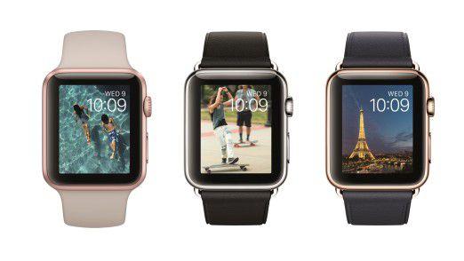 Dominiert den weltweiten Smartwatch-Markt: Apple Watch