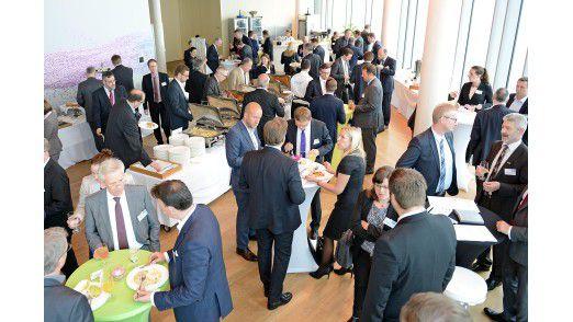 Über 130 Teilnehmer besuchen den vierten Sourcing Tag der COMPUTERWOCHE in Köln.