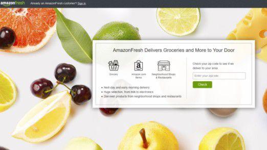 Amazon Fresh kommt nach Deutschland