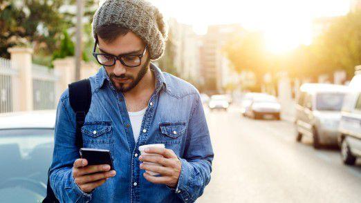 """Das Innovative an dem Projekt """"Smile - einfach mobil"""": Alles lässt sich über eine App steuern."""