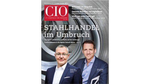 Das neue CIO-Magazin 11/12 2016.