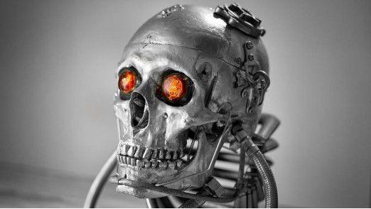 """Nichts gelernt von """"Terminator""""? Eine Studie will belegen, dass zahlreiche Roboter in Sachen IT-Sicherheit ziemlich dürftig bestückt sind."""
