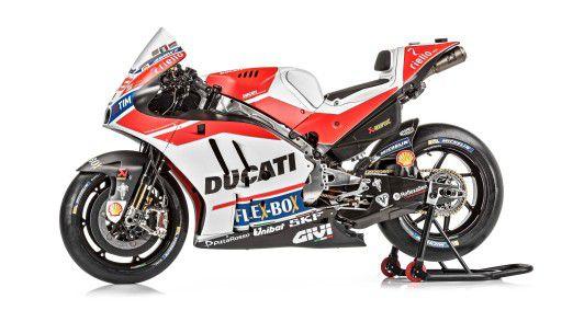 Schnellere Rundenzeiten erhofft sich Ducati durch IoT und AI.