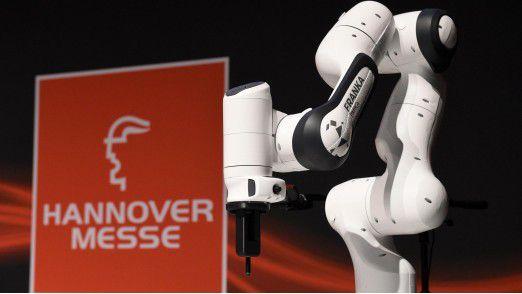Intelligente Roboter sind ein Thema auf der Hannover Messe.