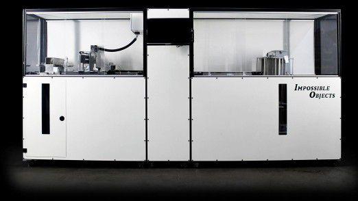 """Der 3D-Drucker """"Model One"""" von Impossible Objects verspricht die Herstellung """"echter"""" Verbundwerkstoff-Teile."""