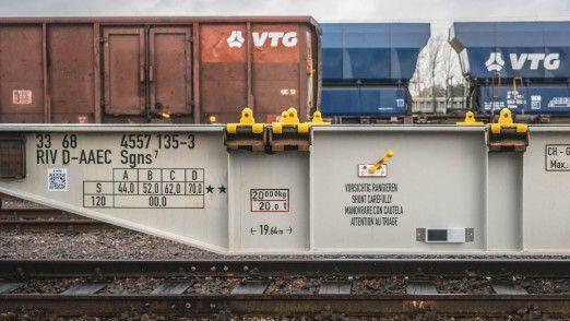 VTG erweitert seine Güterwagenflotte.