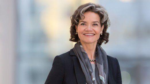 Claudia Nemat ist im Vorstand für IT und Innovation da.