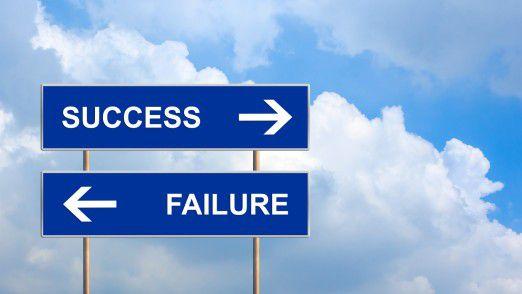 Bei circa 270.000 Jungunternehmern und Selbstständigen ist das Scheitern programmiert.