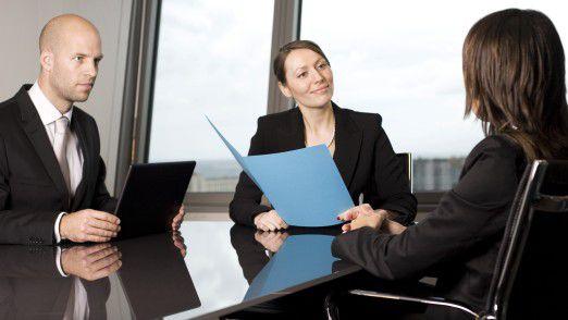 Auf ein Bewerbungsgespräch sollten Sie sich gründlich vorbereiten.