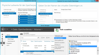 Windows Server 2012 R2: Datenspeicher konfigurieren - Software-Defined Storage - Foto: Thomas Joos