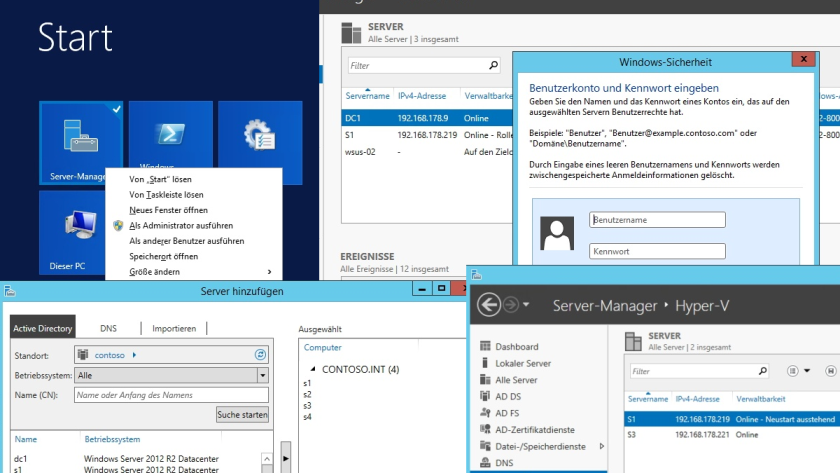 Windows Server 2012 R2: 10 Dinge, die Sie nach der Installation von Server 2012 R2 konfigurieren müssen - Foto: Thomas Joos