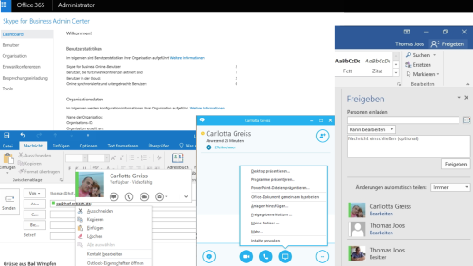Skype for Business in der Cloud betreiben: Skype for Business mit Office 365 produktiv nutzen