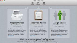 Apple Configurator 2: iOS-Geräte mit dem Apple Configurator einrichten - Foto: Apple