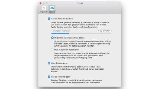 Mit der iCloud-Fotomediathek ist es erstmals möglich, mit allen Geräten eine gemeinsame Mediathek zu verwenden.