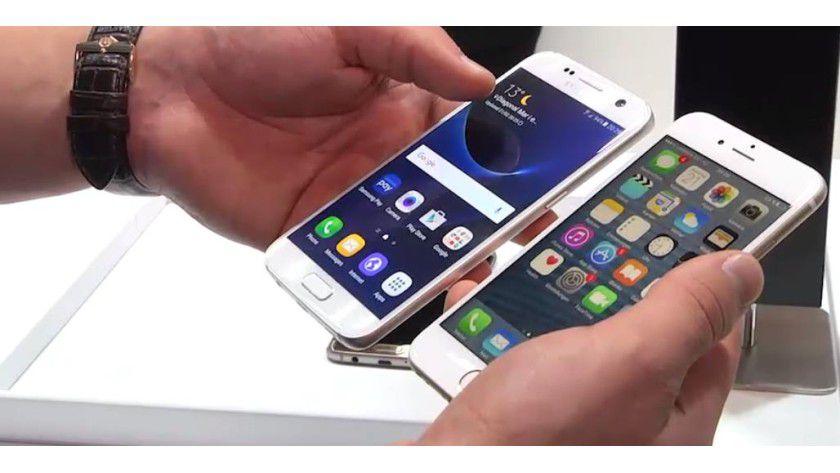 Video: Galaxy S7 gegen iPhone 6s