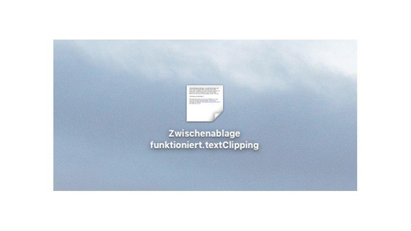 Textclipping