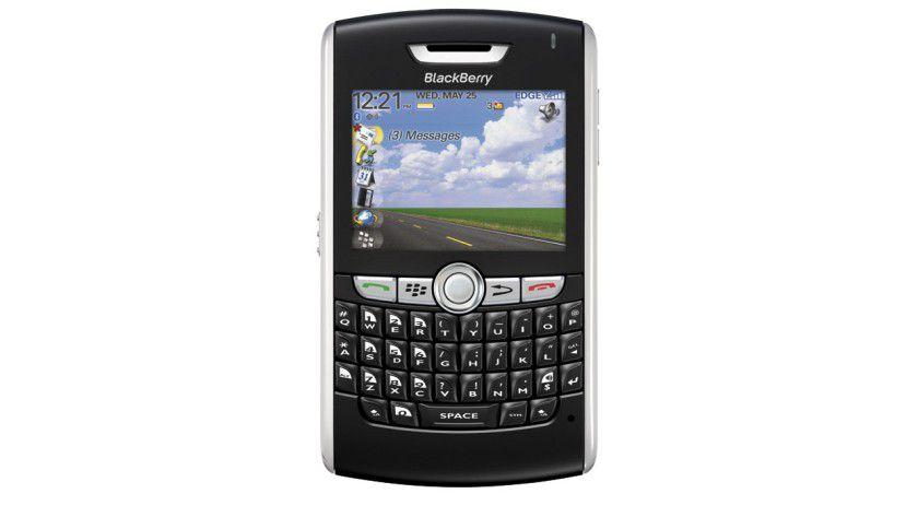 Mit Navigation: Der 8800 ähnelt dem Pearl, unterstützt aber zusätzlich noch GPS. (Quelle: Research in Motion)