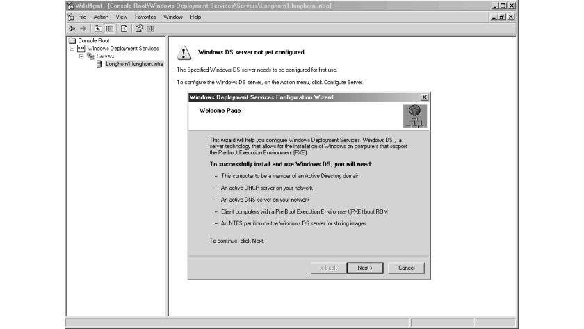 Bild 2: Die meisten Funktionen können über Assistenten konfiguriert werden.