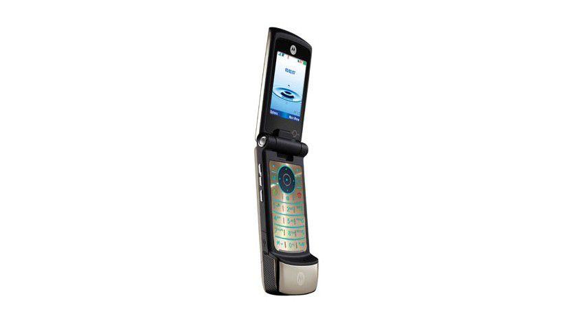 MOTOKRZR K3: Das Smartphone kommt im bekannten Look, verfügt aber zusätzlich über HSDPA (Quelle: Motorola)