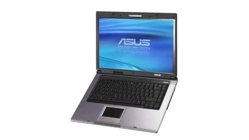 Asus X50R: Das 15,4-Zoll-Display arbeitet mit WXGA-Auflösung. (Quelle: Asus)