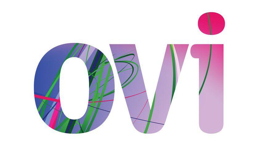 Bislang nur ein Logo: Ovi soll Nokias Internetdienste zusammenfassen und die Integration externer Communitys ermöglichen. (Quelle: Nokia)