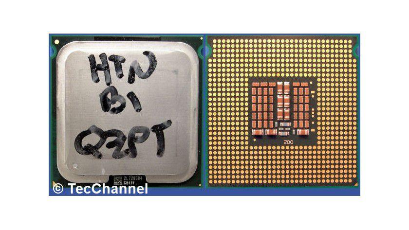 """Xeon E5472 """"Harpertown"""": Der Quad-Core-Prozessor für den Sockel LGA771 setzt auf Intels 45-nm-Penryn-Architektur. Die 3,0-GHz-CPU besitzt 12 MByte L2-Cache und arbeitet mit einem FSB1600."""