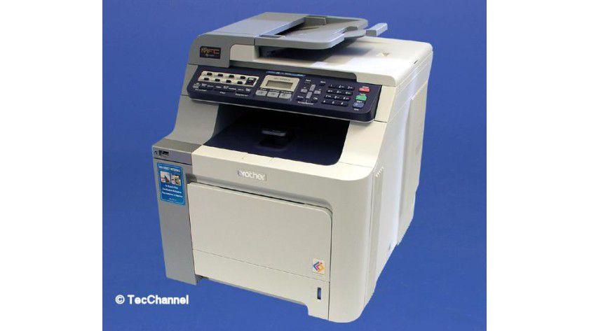 Brother MFC-9440CN: Das Multifunktionsgerät soll bis zu 20 Seiten pro Minute in Farbe produzieren.