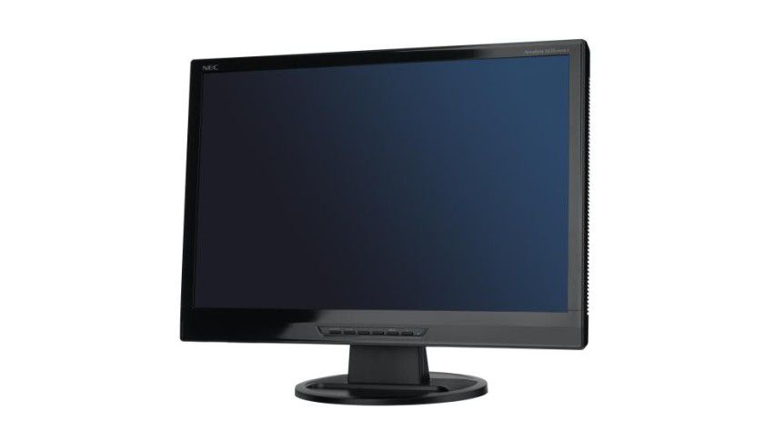Accusync LCD24WMCX: Das Display in Klavierlack-Optik arbeitet mit 1920 x 1200 Bildpunkten. (Quelle: NEC Display Solutions)