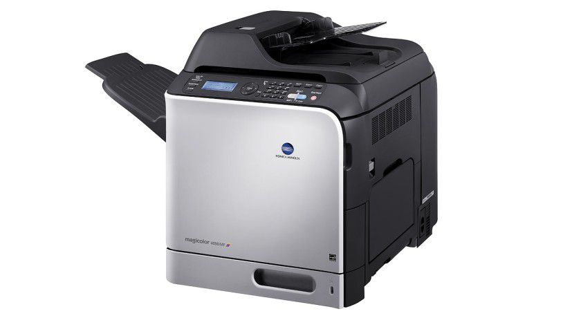 Konica Minolta magicolor 4690mf: Das Kombigerät soll bis zu 24 Farbseiten pro Minute produzieren. (Quelle: Konica Minolta)