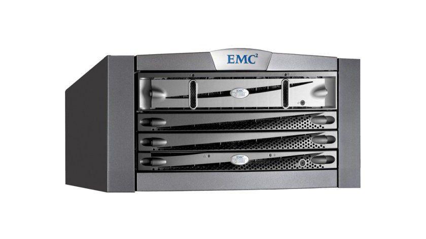 Celerra NX4: Das Storage-System gestattet einen SAS-/SATA-Festplatten-Mischbetrieb. (Quelle: EMC)