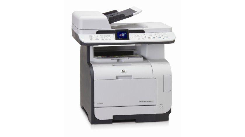 HP Color LaserJet CM2320NF MFP: Das Multifunktionsgerät soll 20 Farbseiten pro Minute produzieren. (Quelle: Hewlett Packard)