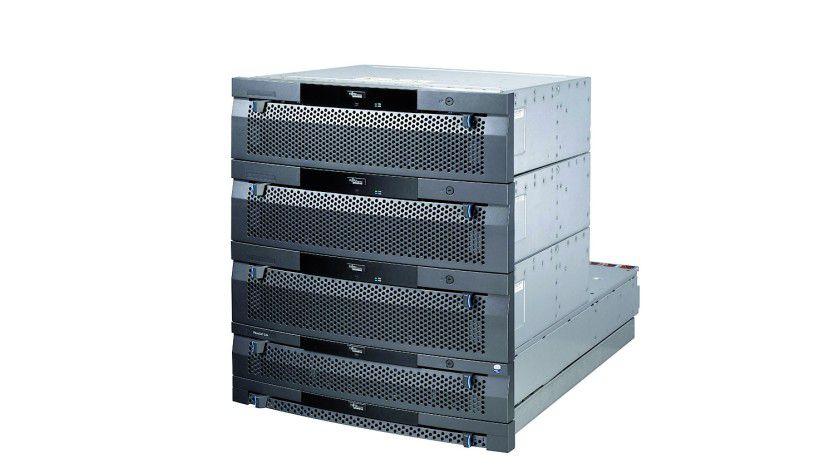 FSC FibreCAT-CX4: Mit SSD now! bietet Fujitsu Siemens Computers jetzt ein Flash-basiertes Upgrade-Modul für das Speichersystem an. (Quelle: Fujitsu Siemens Computers)