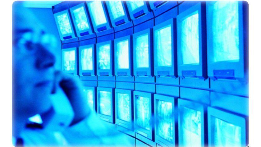 Big Brother: Per Videokameras lassen sich alle sicherheitsrelevante Räume in einem Unternehmen überwachen. (Quelle: Unisys)