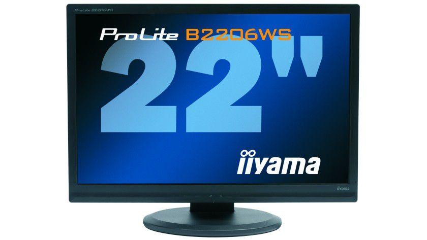 ProLite B2206WS: Das für professionelle Anwender gedachte Display arbeitet mit 1680 x 1050 Bildpunkten. (Quelle: Iiyama)
