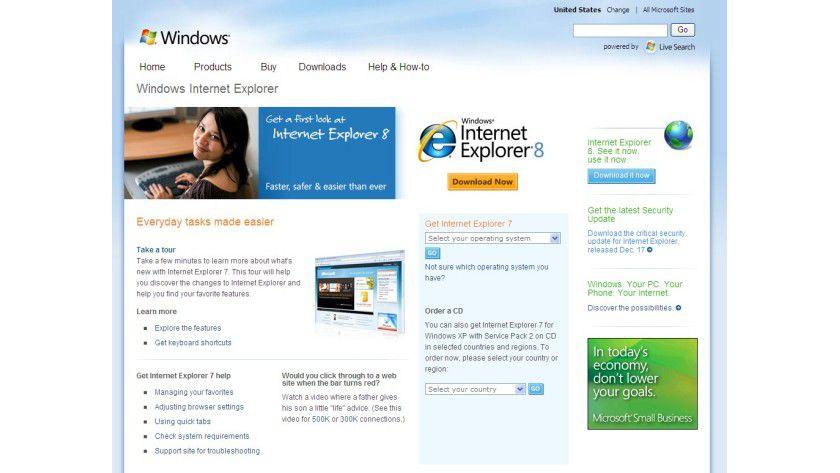 Final: Der Internet Explorer 8 ist da.