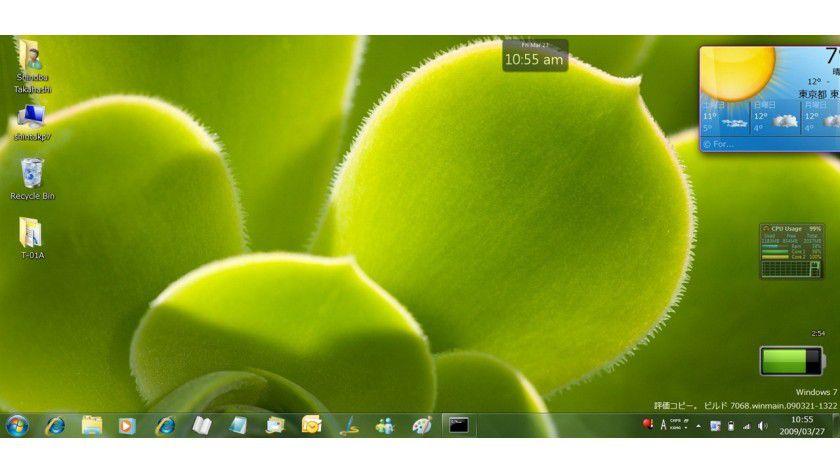 Windows 7: Build 7068 (Quelle - blogs.msdn.com/shintak)