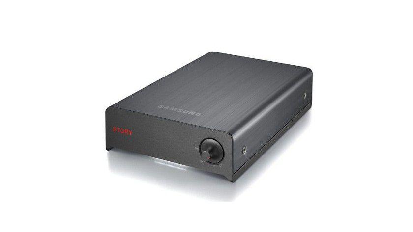 Samsung STORY Station: Die externe Festplatte im 3,5-Zoll-Gehäuse bietet 1,5 TByte Kapazität. (Quelle: Samsung)
