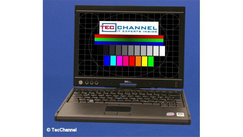 Dell Latitude XT2: Das 12,1-Zoll-Display ist multitouch-fähig und arbeitet mit 1280 x 800 Bildpunkten.