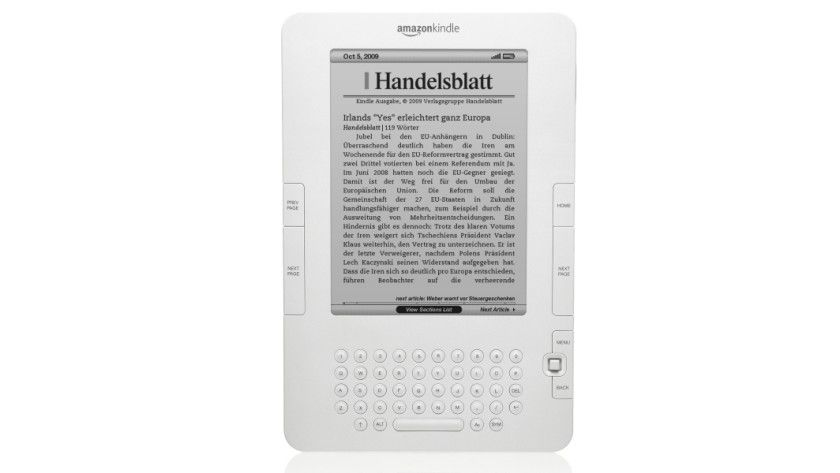 Reader: Amazon liefert den Kindle nun auch in Europa aus. (Quelle: Amazon)