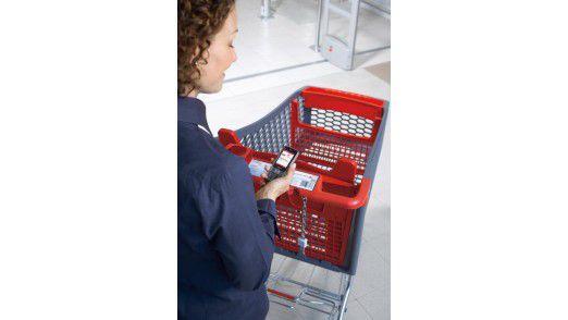Der mobile Einkaufsassistent (MEA) soll künftig auch Produktinformationen bereithalten.