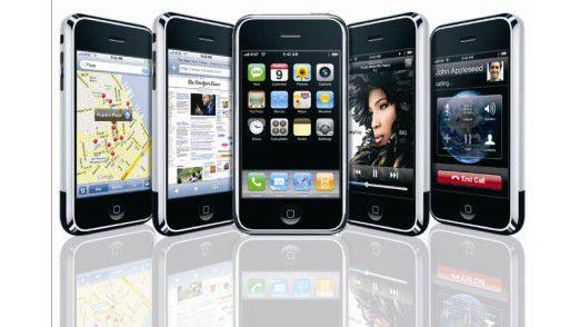 Das iPhone von Apple wird nach Einschätzung von Sicherheits-Experten eines der nächsten Angriffsziele von Hackern sein.