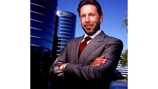 """Lawrence """"Larry"""" Ellison, CEO Oracle: """"Oracle wird der einzige Anbieter sein, der ein integriertes System entwickeln kann, bei dem alle Teile zusammenpassen."""""""