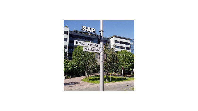 Gehört zur Region des Software-Clusters, in der die Studie erhoben wurde: SAP-Firmensitz Walldorf.