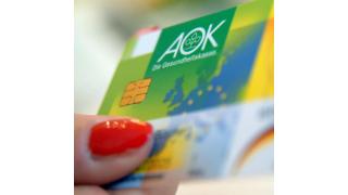 Elektronische Gesundheitskarte: T-Systems zertifiziert AOK-Ausweise - Foto: AOK